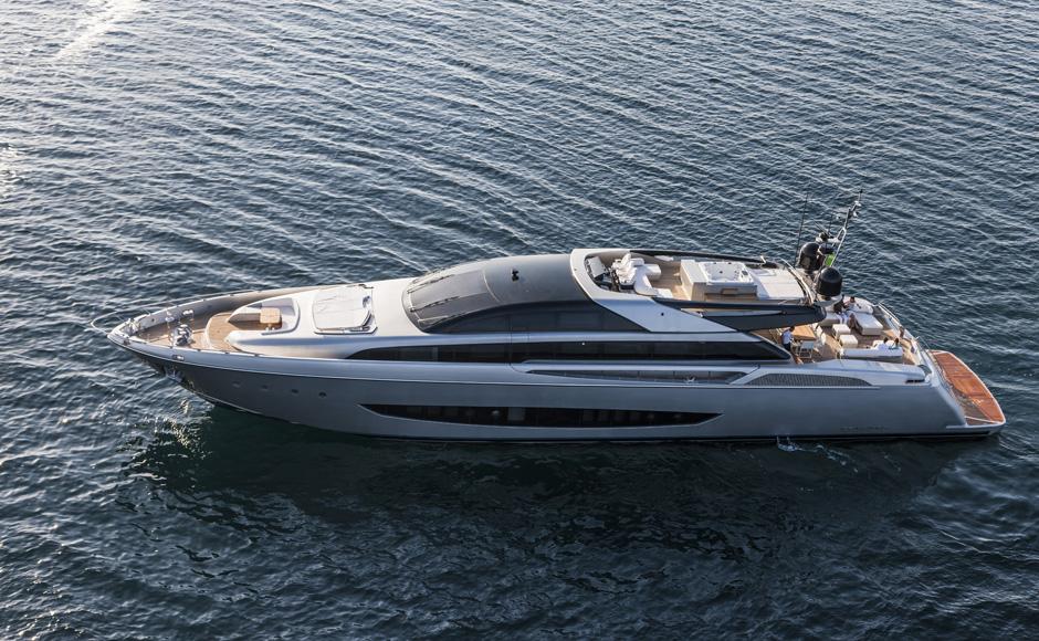 Riva Mythos 122, the aluminium flagship - Boatmag International