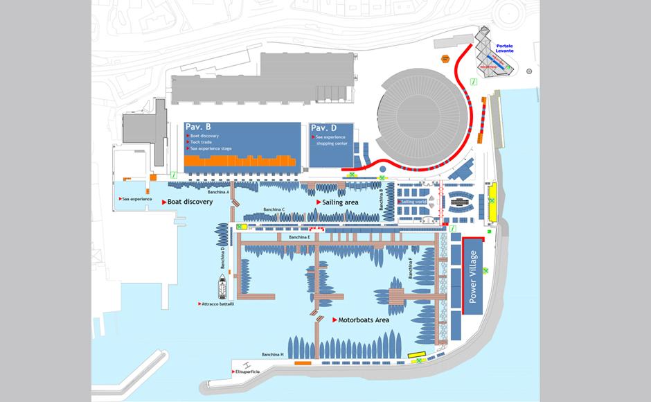 Nautico Genova 2014_Planimetria