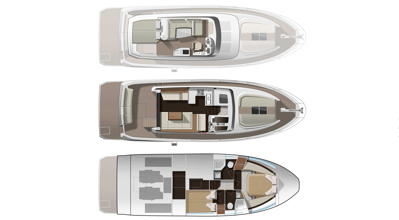 Jeanneau Velasco 43: one boat, two characters - Boatmag