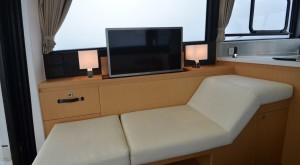 Interiors of Jeanneau Velasco 43
