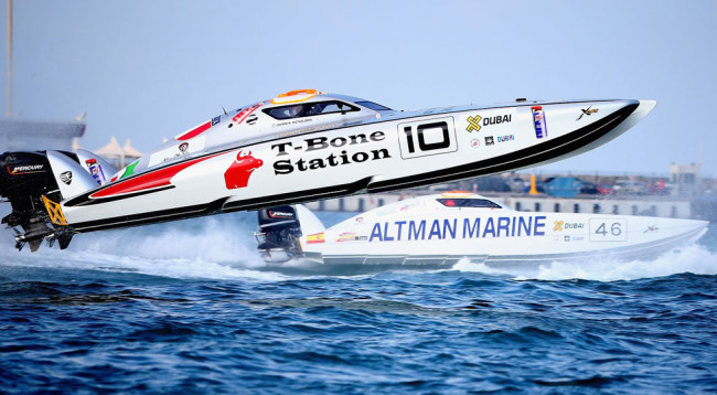 UIM XCAT World Series - Round 6, Abu Dhabi GP - Day 3